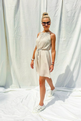 Šaty Celestina béžové
