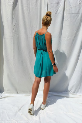 Šaty Celestina mentolové