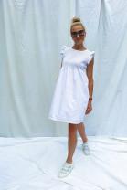 Šaty Apolonia  biele