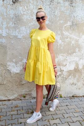 Šaty Antonela žlté
