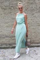 Šaty Constance olivové