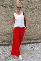 Nohavice Onorio červené
