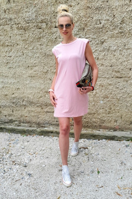 Šaty Savina ružové