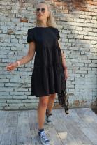 Šaty Antonela čierne