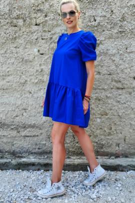 Šaty Aurora kráľ.modré