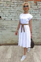 Šaty Izabela biele