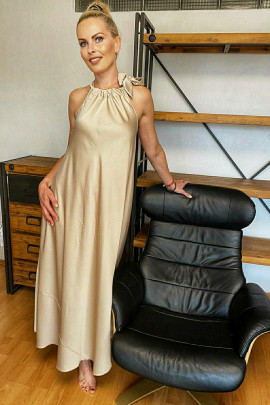Šaty Priscila zlaté