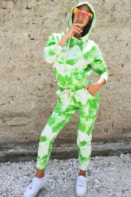 Mikina Ezra zelená
