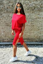 Sukňa Lyra červená