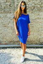 Šaty Danila kráľ.modrá II.