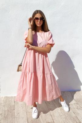 Šaty Flora ružové