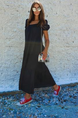 Šaty Carmela čierne