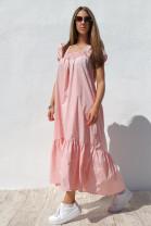 Šaty Carmela ružové
