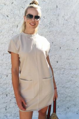 Šaty Sansone béžové
