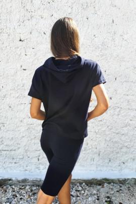Tričko Emidia čierne