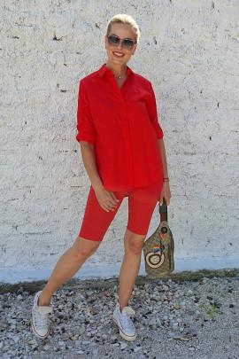 Košeľa Walt červená