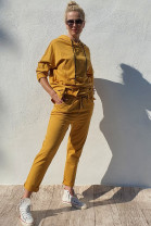 Mikina Colombo žltá