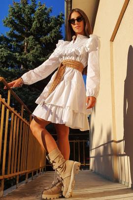 Šaty Bary biele