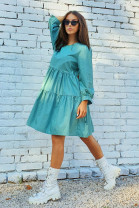 Šaty Aneta mentolové