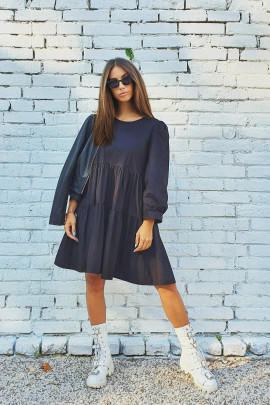 Šaty Aneta čierne