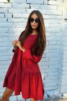 Šaty Aneta bordové