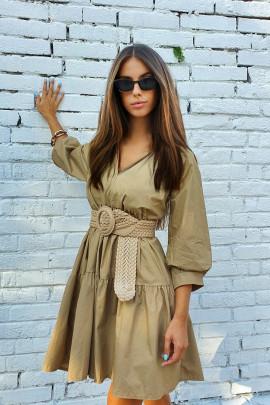 Šaty Verena kamel