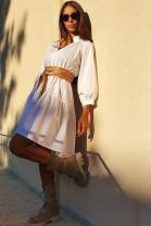Šaty Verena biele