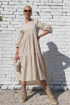 Šaty Marilena béžové