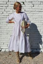 Šaty Marilena biele