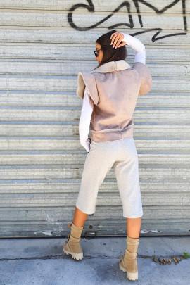 Nohavice Dino sivé