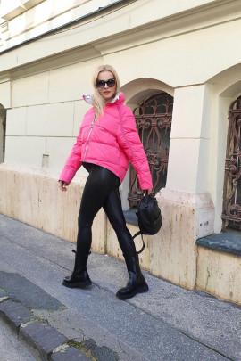 Páperová bunda Elvira cyklámenova