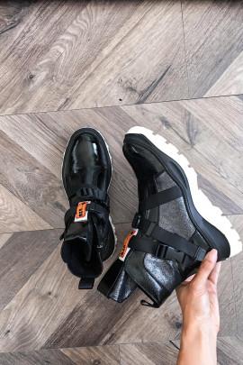 Čižmy 02 čierne