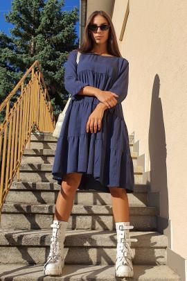 Šaty Lieta modré