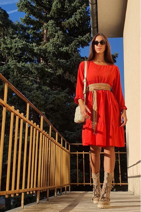 Šaty Lieta červené