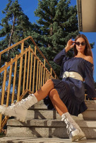 Šaty Regina modré