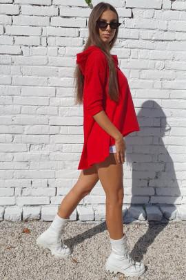 Mikina Jordan červená