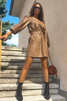 Šaty Orlando kamel