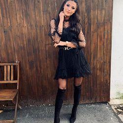 Už , už .....a nielen tieto prekrásne šaty Vás tento týždeň čakajú v novej kolekcii👌🙌☝️ ALLORA fashion concept ============================== #modaitaliana #madeinitaly #italianshop #italianfashionstore #black #blackdress #ootdfashion #outfitoftheday #slovakgirls #czechgirl #ahoj #moda #dnesobliekam #dnesnosim #dnes #nitra #slovensko