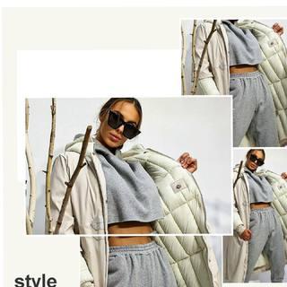 FALL/WINTER collection  Sivá tepláková súprava a teplá, dlhá bunda na zimu 🤩 . . . . #allora #moda #suprava #instagirl #fashionstyle #kolecia